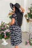 Платье 9021 (N) (Черный) (Фото 2)