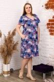 Платье 6942 (N) (Синий) (Фото 1)