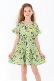 Платье Оттавия детское (N) (Зеленый) (Фото 1)