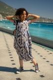 Платье 4417 (N) (Синий) (Фото 1)