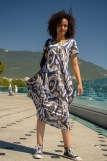 Платье 4417 (N) (Синий) (Фото 3)