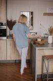 Женская пижама ЖП 024 (T) (Серый_принт на розовом) (Фото 4)