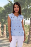 Блузка 13601 (N) (Фото 1)