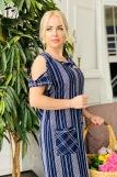 Платье 7176 (N) (Синий) (Фото 3)