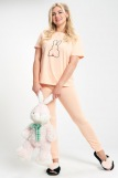 Пижама женская ЖП 030/1 (T) (Персиковый) (Фото 2)