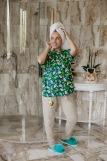 Женская пижама ЖП 024/5 (T) (Бежевый_авокадо) (Фото 3)