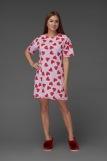 Женская сорочка ЖС 029 (T) (Принт леденцы-сердечки) (Фото 4)