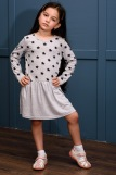 Платье 10487 детское (N) (Звезды) (Фото 4)