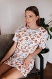 Женская сорочка ЖС 028 (T) (Принт котята) (Фото 1)