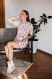 Женская сорочка ЖС 028 (T) (Принт котята) (Фото 2)