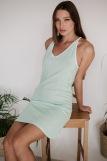 Женская сорочка ЖС 031 (T) (Горох на мятном) (Фото 1)